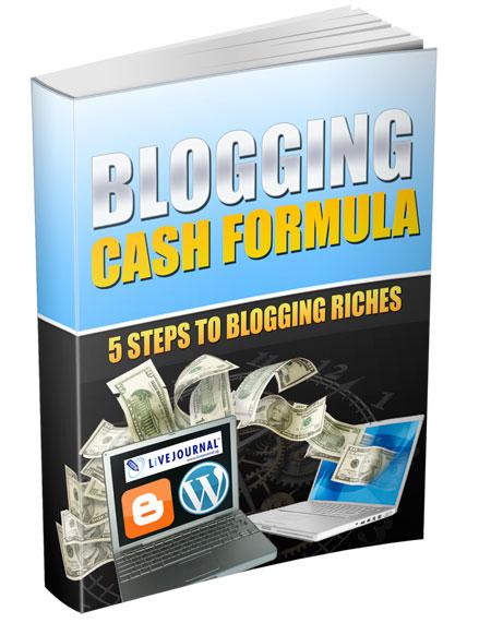 Product picture Blogging Cash Formula