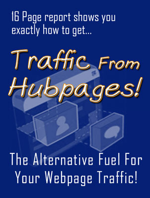 Product picture Traffic From Hubpages!